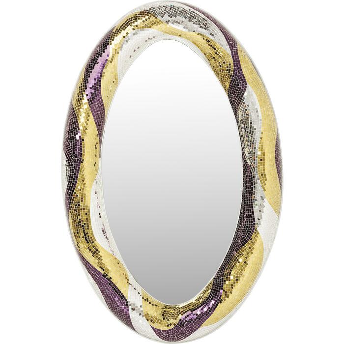 spiegel mosaik glamour 170x110cm kare design. Black Bedroom Furniture Sets. Home Design Ideas