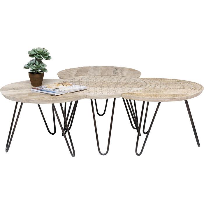 Table Basse Kare Design.Coffee Table Puro 4 Set Kare Design