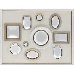 Mirror Collage Frame White 130x170cm
