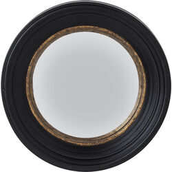 Mirror Convex Black Ø52cm