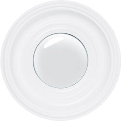 Mirror Convex White Ø29cm