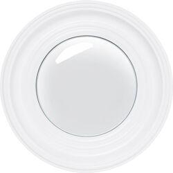 Mirror Convex White Ø39cm