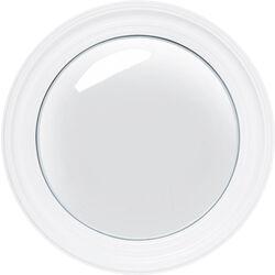 Mirror Convex White Ø51cm