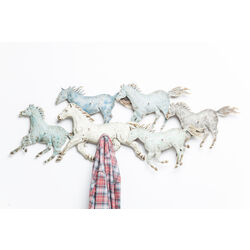 Coat Rack Horses Colore