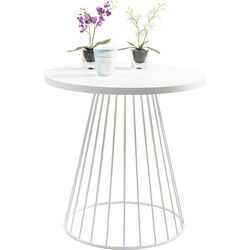 Table Bistro Wire White 75cm