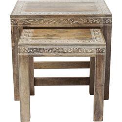 Side Table Desert Queen (2/Set) 32x45cm