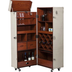 Wardrobe Trunk Bar Sensation White