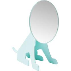 Tischspiegel Dog Face Mint