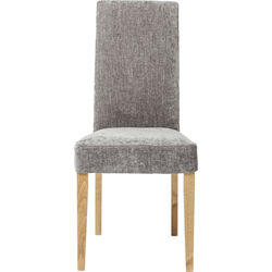 Padded Chair Econo Slim Shine Grey