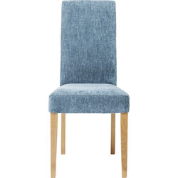 Padded Chair Econo Slim Shine Blue