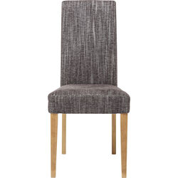Padded Chair Econo Slim Salty Grey