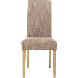 Padded Chair Econo Slim Salty Brown