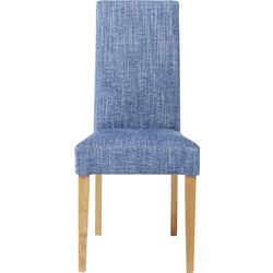 Padded Chair Econo Slim Salty Blue