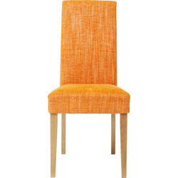 Padded Chair Econo Slim Salty Orange