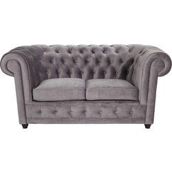 Sofa Oxford 2-Seater Silver Grey