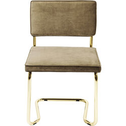 Cantilever Chair Expo Gold