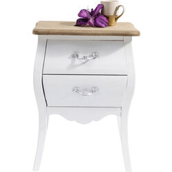 Commode Romantic blanche 45cm