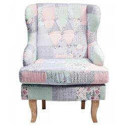 Wing Chair Patchwork Powder Promo