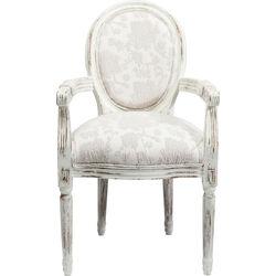 Chair  with Armrest Louis Romance