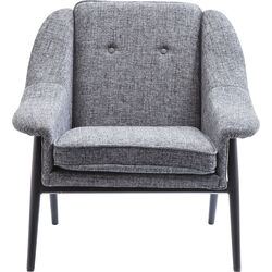 Arm Chair Queens Cosy Grey