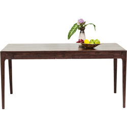 Brooklyn Walnut Table 160x80cm 4-drw