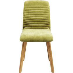 Chair Lara Velvet Green