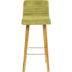 Bar Stool LARA Green Velvet