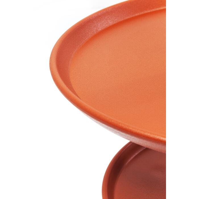 Beistelltisch jacky orange 42cm kare design for Beistelltisch orange