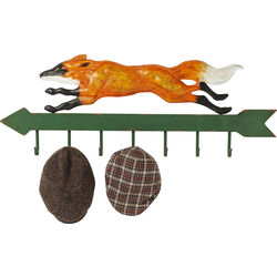Coat Rack Running Fox