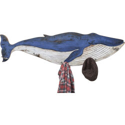 Coat Rack Blue Whale