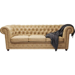 Sofa Oxford 3-Seater Terra Brown
