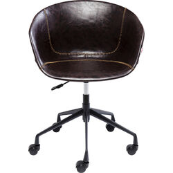 Office Chair Lounge Brown