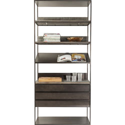 Shelf Nero 3 Drawers