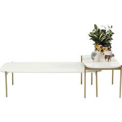 Coffee Table Miami Gardens White (2/Set)
