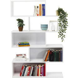 Brooklyn White Shelf Zick Zack 150x100cm