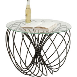 Side Table Wire Ball Ø60cm