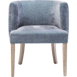 Chair with Armrest Theater Blue