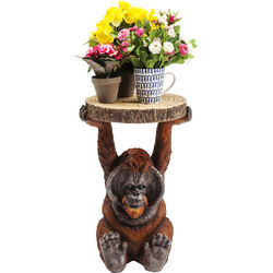 Side Table Animal Orang Utan 35x33cm