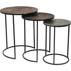 Side Table Electra (3/Set) Ø48cm