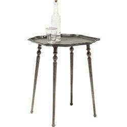 Side Table Endris Dark Silver 48x48cm
