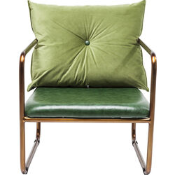 Armchair Theo Green