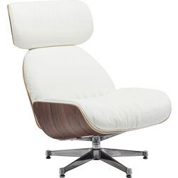 Swivel Chair Ponte White