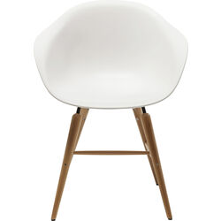 Chair with Armrest Forum Object White