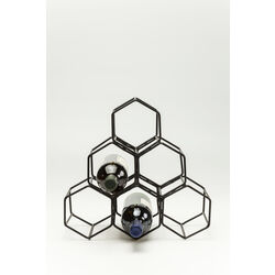 Wine Rack Black Hornet Small