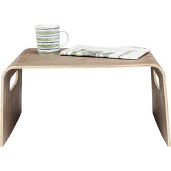 Auxiliar Table Shape Walnut Big