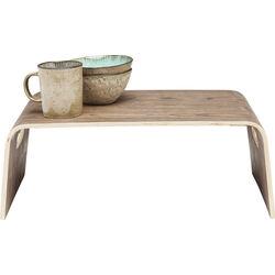 Auxiliar Table Shape Walnut Small