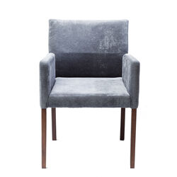 Chair with Armrest Mira Bluegrey
