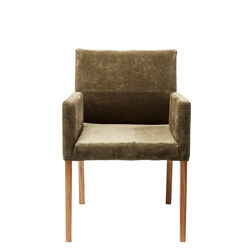 Chair with Armrest Mira Olive