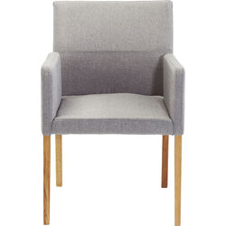 Chair with Armrest Mira Grey