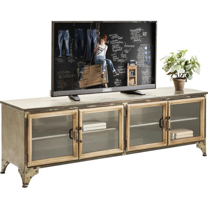 tv board kontor metal kare design. Black Bedroom Furniture Sets. Home Design Ideas